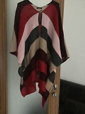 STUNNING LADIES JAMES LAKELAND PONCHO CARDIGAN SIZE 16 IN EXCELLENT CONDITION