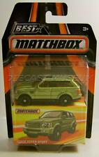 RANGE ROVER SPORT BEST OF MATCHBOX RUBBER TIRES RR 2016