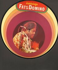 """FATS DOMINO Jambalaya PICTURE DISC 12"""" 10 track Blueberry Hill Heartbreak Hotel"""