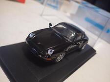Minichamps Paul's Model Art Black Porsche 911 Carrera Coupe '94 Diecast 1:43 NIB