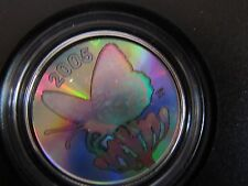 #23932 24535   2005 BUTTERFLY COLLECTION-FRITILLARY 50 CENT  COIN