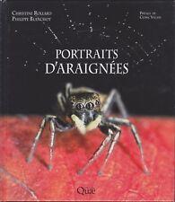 Blanchot/Rollard: Portraits d'araignées (French, 2014 Hardcover)