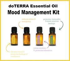 NEW doTERRA Essential Oil Mood Management Kit Balance Elevation Lavender Citrus