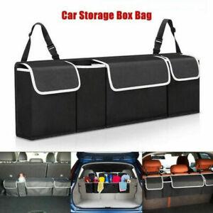 Car Trunk Organizer Car Interior Accessories Back Seat Storage Box Bag
