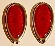 1PR - 1938-39 Ford 'Tear Drop' Tail Lights