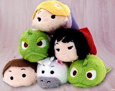 Disney Parks / Store Tangled Rapunzel Pascal Mini Tsum Tsum Set of 6 Plush Toys