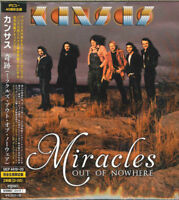 KANSAS-MIRACLES OUT OF NOWHERE-JAPAN CD+DVD Ltd/Ed J50