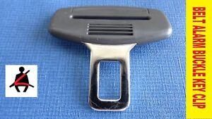 BMW seat belt BUCKLE KEY CLIP SAFETY clasp ALARM PREVENT stop BEEP cancel