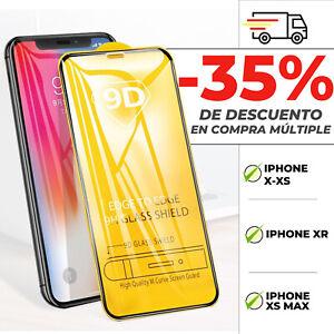 Protector Pantalla Iphone X / Xs / XR / Xs Max / Cristal Vidrio Templado 9D