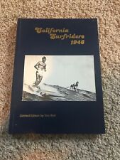 Vintage Surfing Classic California Surfriders by Doc Ball. Signed. Rare!