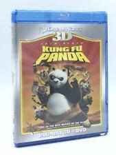 Kung Fu Panda 3D (Blu-ray 3D/2D+DVD, 2018; 2-Disc Set) NEW
