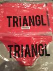 Triangl / Bikini BOTTOM & Carry Bag/GIGI RED Velvet /size XXSmall Brand NEW!!