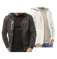 Mens 883 Police Casual Lightweight Zip Through Hooded Jacket Sizes from S to XXL