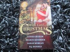 MILLS & BOON WITH LOVE, AT CHRISTMAS LIKE NEW 4 IN 1 2017