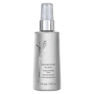 Kenra Platinum Thickening Glaze 4 oz / 118 ml creates thicker fuller hair