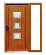 Haustür ATF Haustür Modell °Maja° in golden oak mit 1 Seitenteil PVC