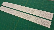 Mazda Bongo Friendee Roof Auto Free Top graphics stickers decals replacement AFT