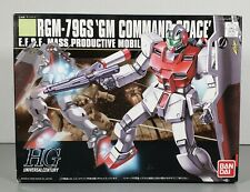 "Bandai 1/144 Hg ""Gundam Rgm-79Gs Gm Command Space"" Plastic Model Kit #131420"