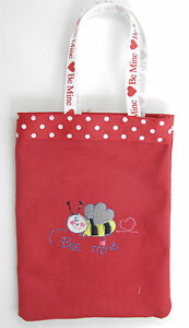 Polka Dot and Bee Mine Treat Bag for Parties and Children's Birthday Parties