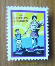 Cinderella/Poster Stamp USA 1940 - For Crippled Children - a469