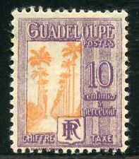 STAMP / TIMBRES COLONIES FRANCAISES NEUF CHARNIERE / GUADELOUPE TAXE N° 28