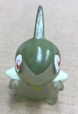 2010 Pokemon B&W Finger Puppet Clear Axew Figure Catch Them All Nintendo Bandai