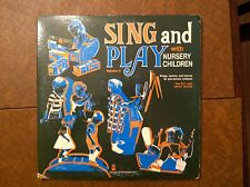 Sing & Play with Nursery Children Volume 2 Songs Poems Stories for Pre-School LP