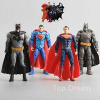 4X New Movie Batman vs Superman Action Figure Lighting 6'' Kids Gift