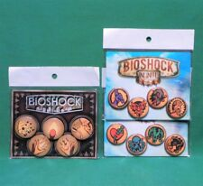 BioShock Infinite Vigor Plasmid Button Pin Pack Set of 13 Officially Licensed