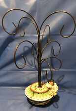 Enesco Friends Of The Feather Ornament Hanger Tree Display