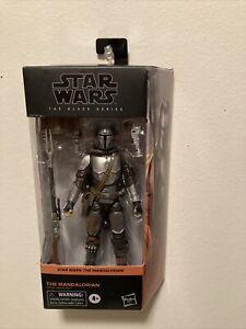 "Star Wars Black Series 6"" Mandalorian Beskar Armor #01 Figure"