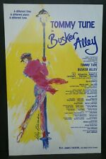 "Busker Alley Theater Broadway Window Card Poster 14"" x 22"""
