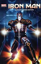 IRON Man (2010) speciale volume #6 (US Legacy 1-5) tedesco TRON-VARIANT COVER-Edition