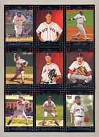 2007 Topps Boston Red Sox TEAM SET - MINT