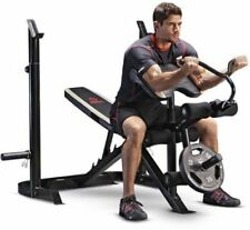 Olympic Bench Gym Weight Workout Home Fitness Exercise Lifting Body Press NEW