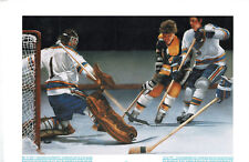 1978 Prudential Print, Bobby Orr Scores to Win 1969-70 Stanley Cup
