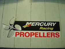 "MERCURY OUTBOARD ""MERCURY RACING"" PROPELLERS DECAL - STICKER"