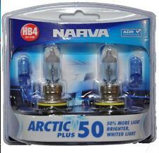 NARVA HB4 GLOBES ICY BLUE ARCTIC 12V 51W LIGHTS HEADLIGHTS PARKER T10 48613BL2