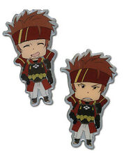 Sword Art Online Klein Happy and Angry 2 Pin Set Licensed Anime Manga NEW