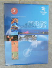 LARGE SYDNEY OLYMPIC GAMES CALENDAR - 16 MONTHS, 2000 to 2001