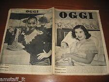 RIVISTA OGGI 1955/2=LIA MIKULUS=POLEMICA K2 CAMPIOTTI COMPAGNONI LACEDELLI