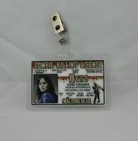 The Walking Dead ID Badge-Zombie Killing License Lori Grimes