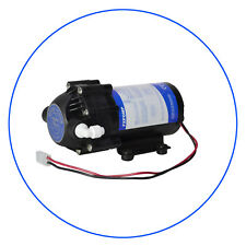 Diaphragm Booster Pump RO water with Fittings 75gpd 24V / DC
