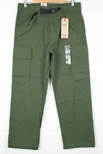 New Levi's Men's Carrier Cargo Military Banded 32 x 30 Lodge Green 574190003