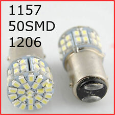 12V LED Light White 1157 BAY15D 50SMD 1206 6000K Car Tail Stop Brake Lamp Bulb