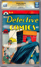 DETECTIVE COMICS #44 CGC-SS 4.0 *CERTIFIED PRIVATE COLLECTION OF JERRY ROBINSON*