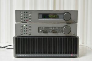Quad 405 ii power amplifier / 34 preamplifier / and fm4 stereo tuner