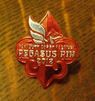 Kentucky Derby 2012 Pegasus Pin - Louisville KY Race Festival USA Souvenir Badge