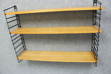 True Vintage TOMADO STRING REGAL 3x Böden 2x Leitern *Mid Century Shelf 60s 70