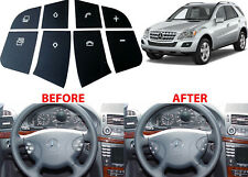 Replacement Steering Wheel Button Stickers For 2005-2012 Mercedes SUV New USA